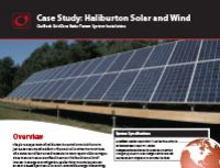 Haliburton Solar & Wind