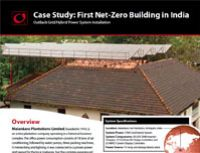 1st Net-Zero Building in India